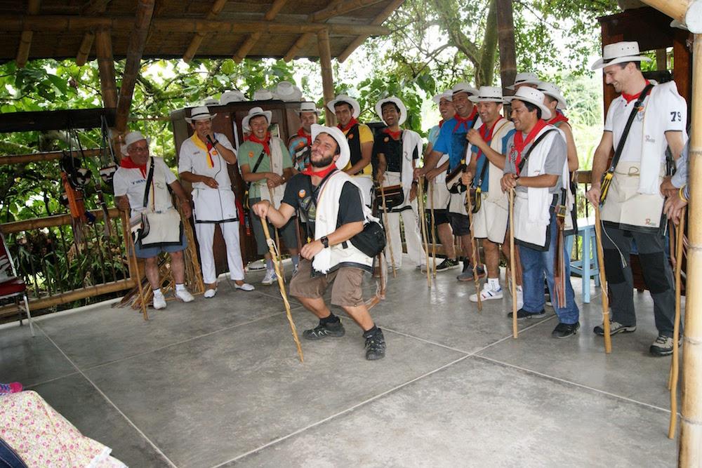 danse des hommes zona cafetera Colombie