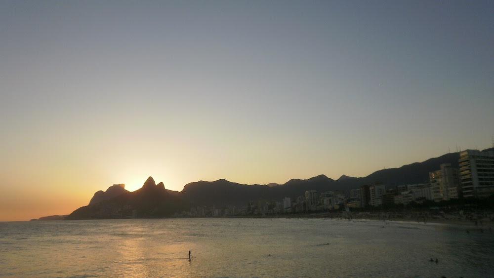 coucher de soleil ipanema