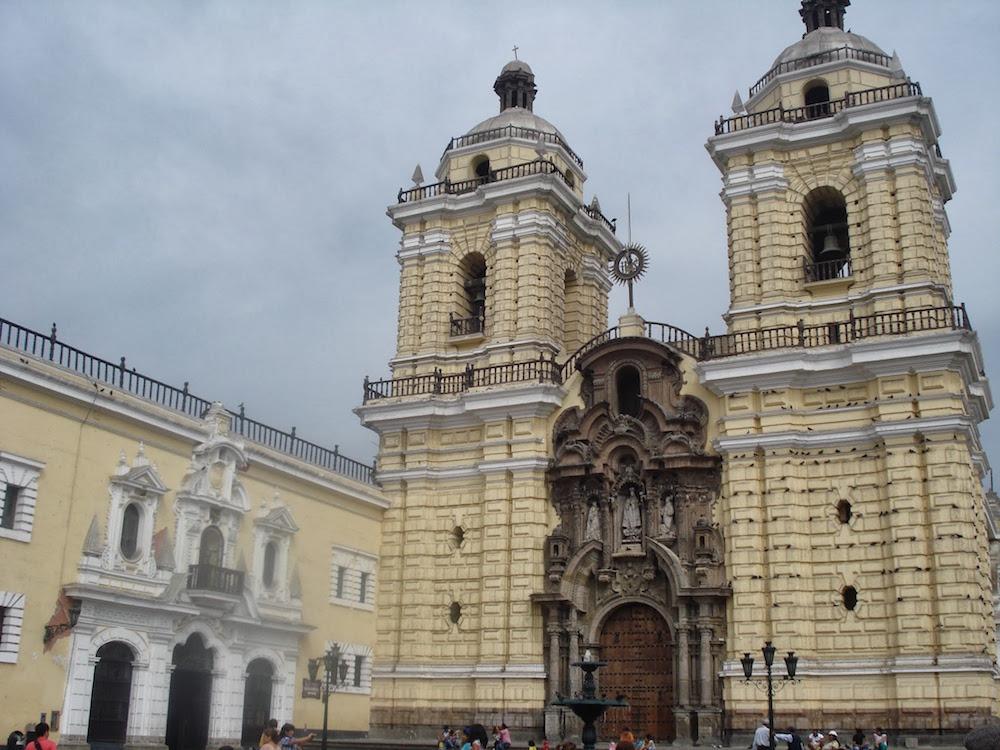 cathédrale san francisco Lima Pérou