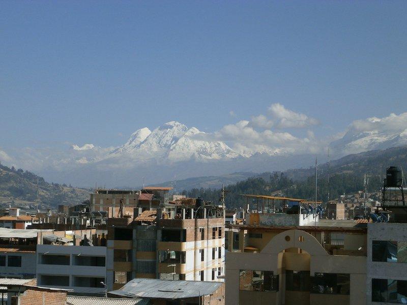 Huaraz Pérou dapart treks dans la cordillère