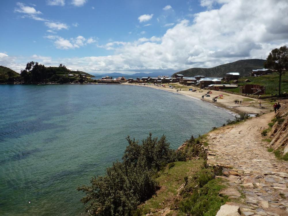 page lac titicaca isla del sol