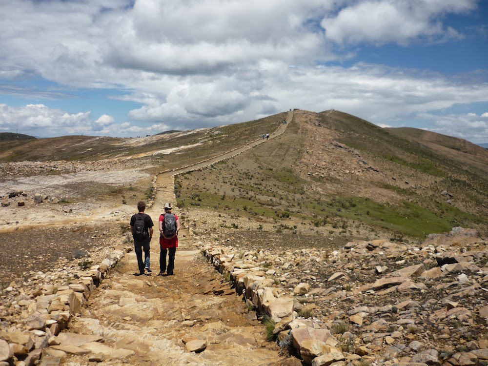 inca trail isla del sol solivie