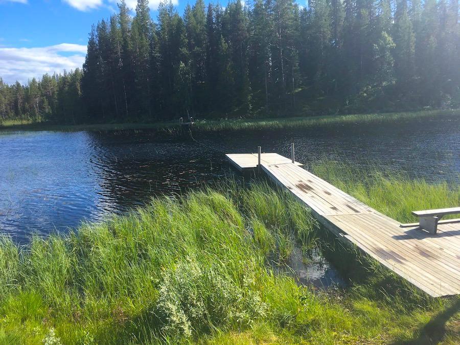 camp de sami en Laponie