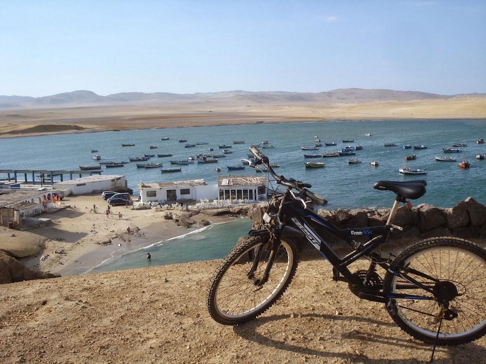 lagunillas, port désert de paracas