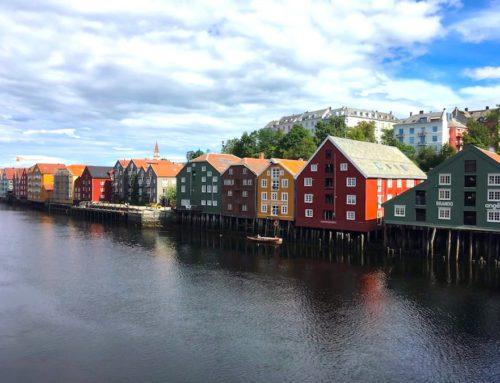 Virée pluvieuse sur la Kystriksvein, grosse étape et escapade à Trondheim