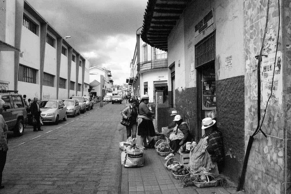 Vente de produits Amérindiens CUENCA Equateur