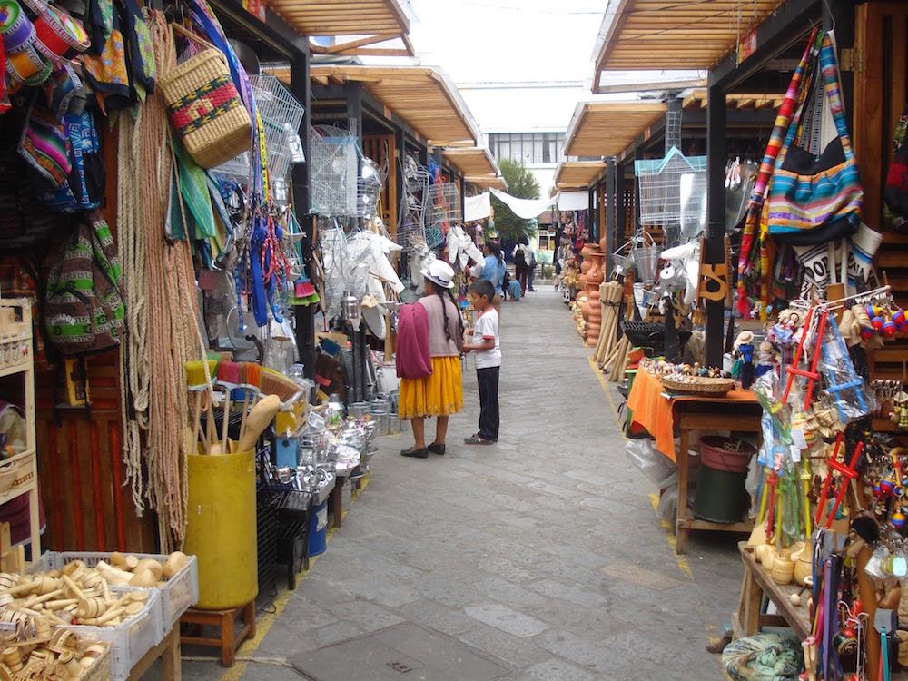 marché artisanal Equatorien CUENCA