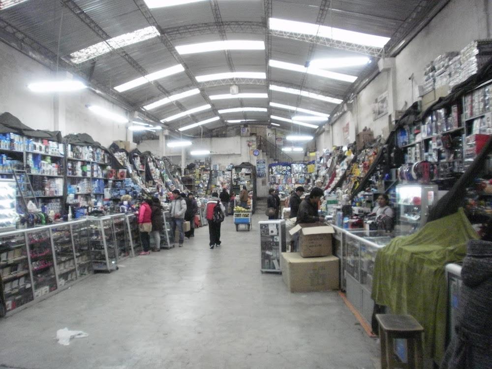 vendeur électronique ruelle la paz