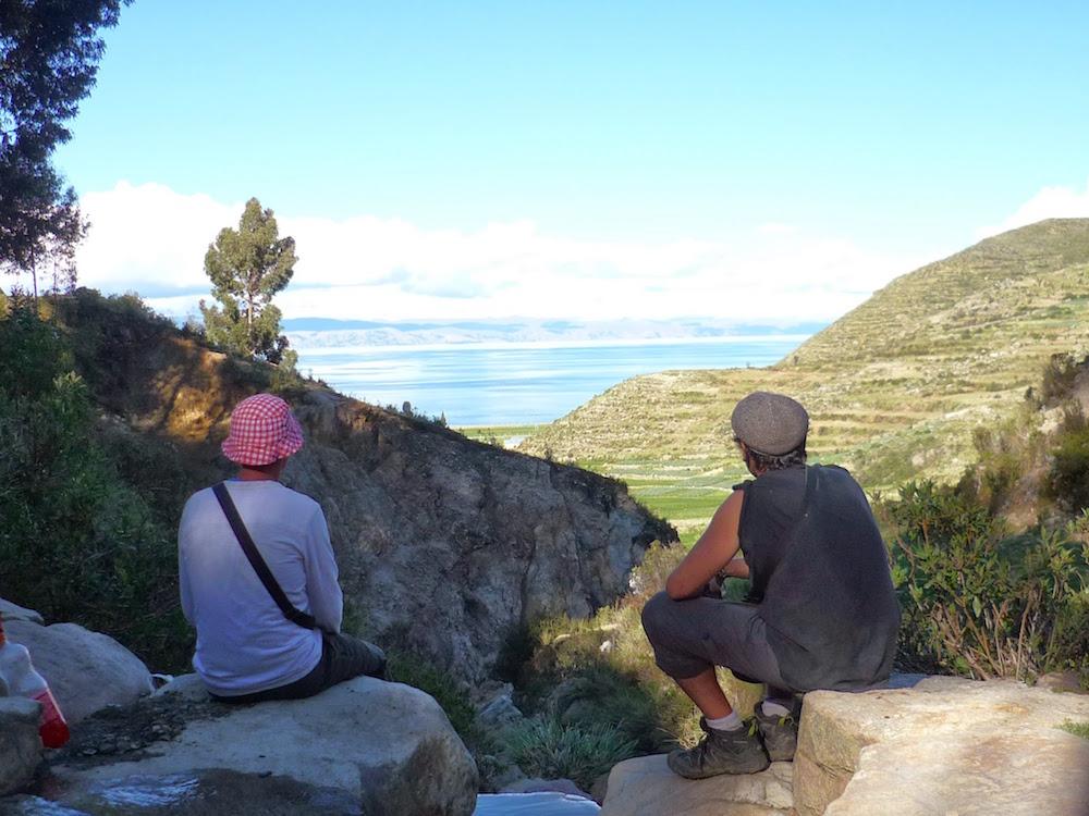 isla del sol nuances de couleur lac titicaca