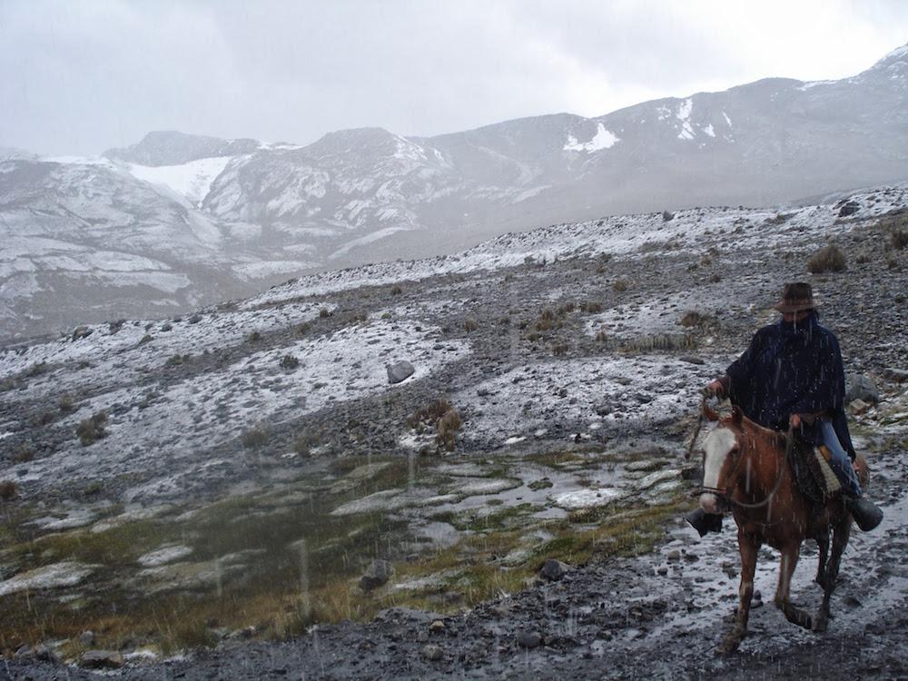 montee à cheval glacier pastoruri Pérou
