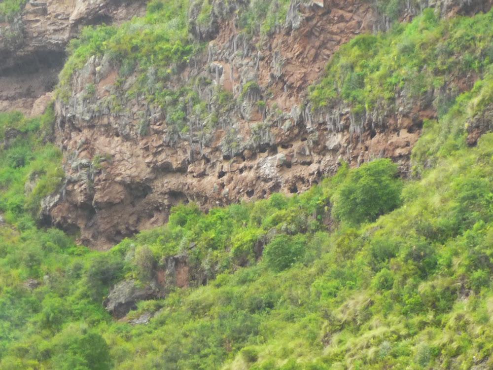 mur aux 300 trous tombes Pisaq Pérou - Urubamba