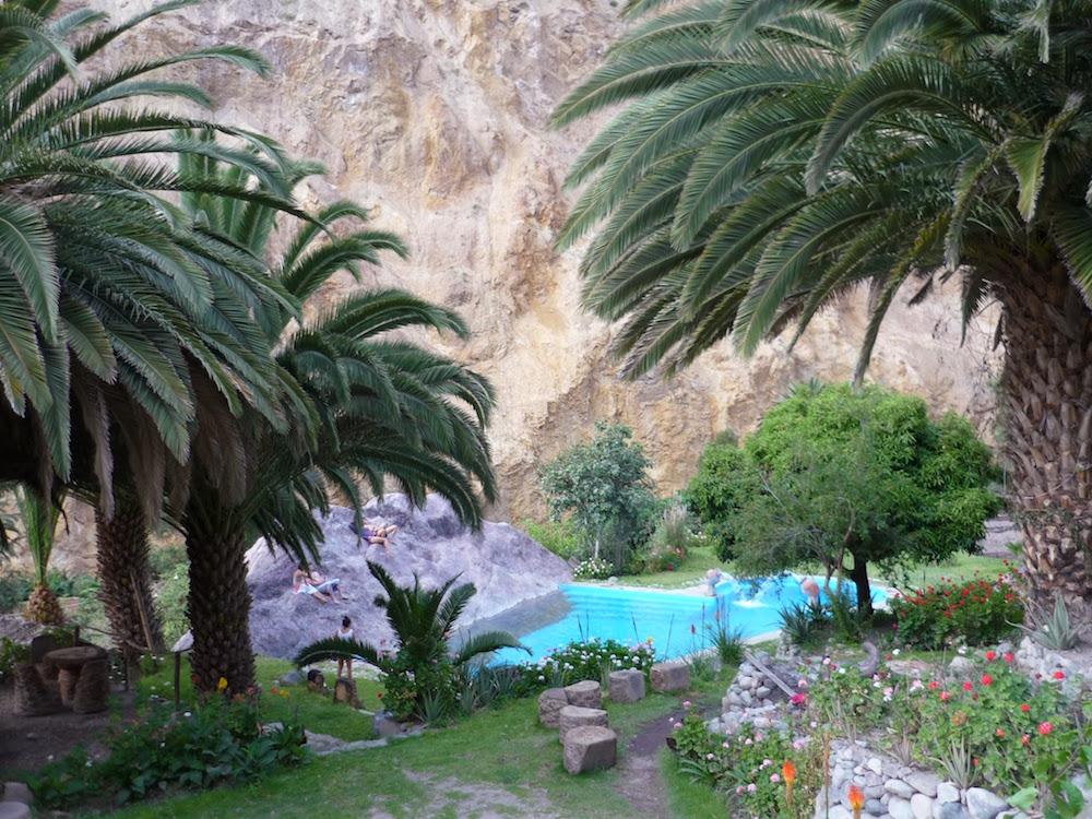 oasis de Sengalle Canyon de Colca