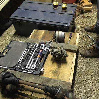 matériel mécanique renault 4L
