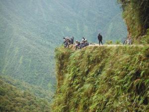 point de vue route de la mort vtt bolivie