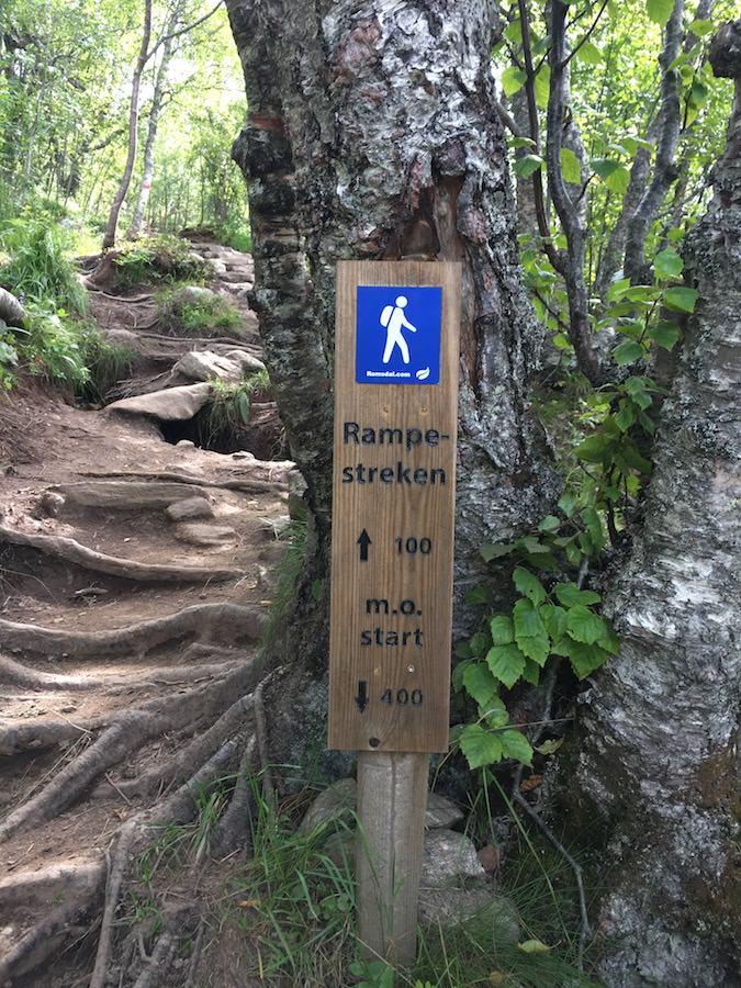 panneaux randonnée rampestreken