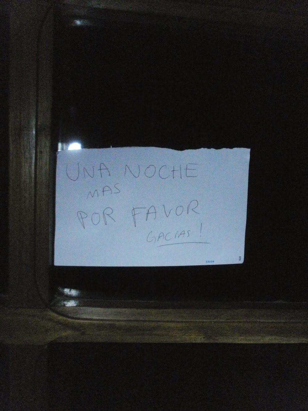 nuit d'hotel en bolivie