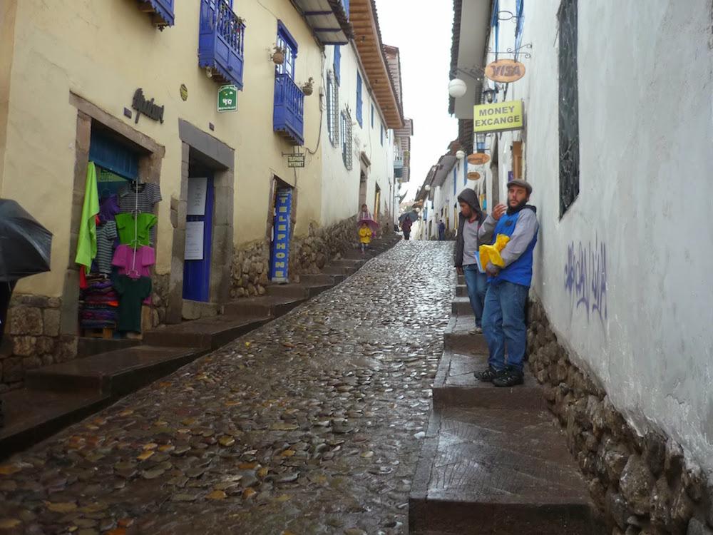 rues pavées incas Cuzco pérou
