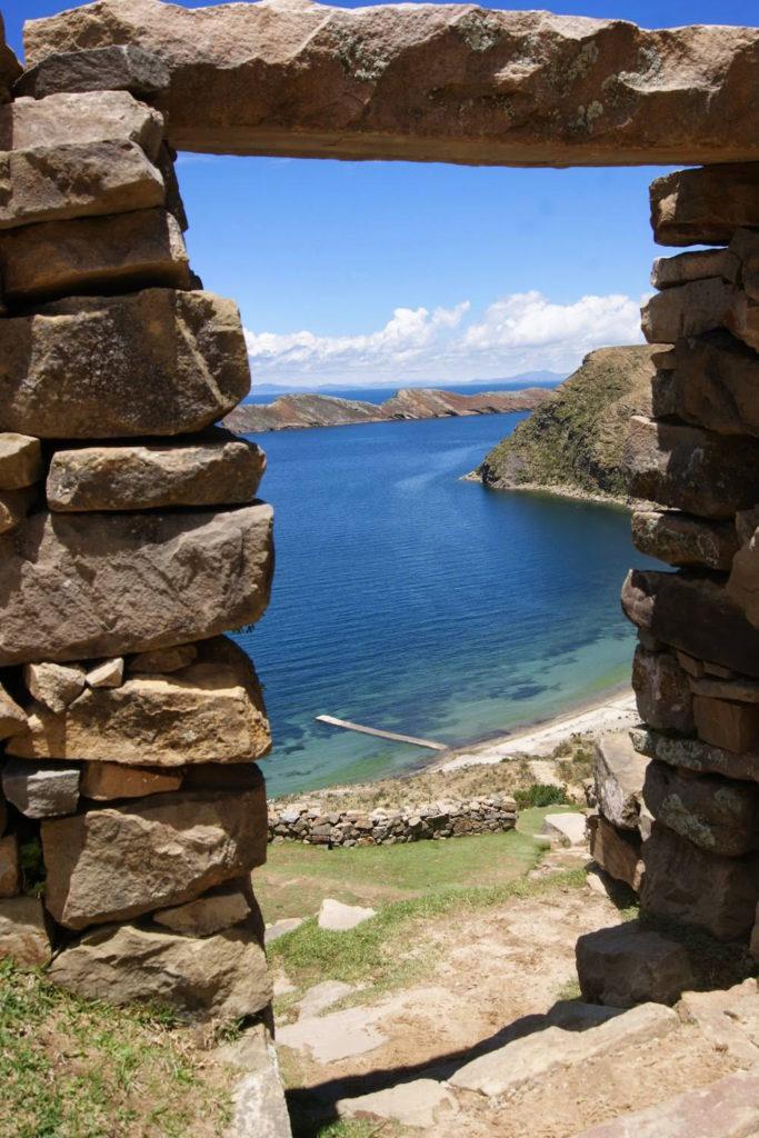 ruines incas lac titi caca isla del sol