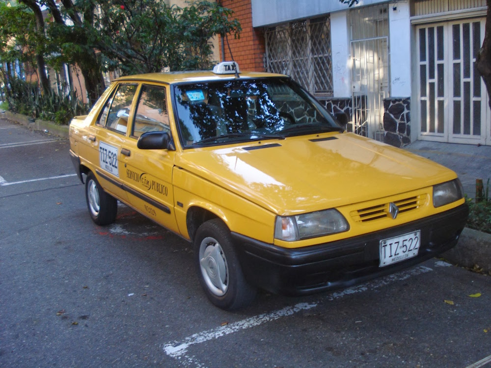 taxi service public - Colombie
