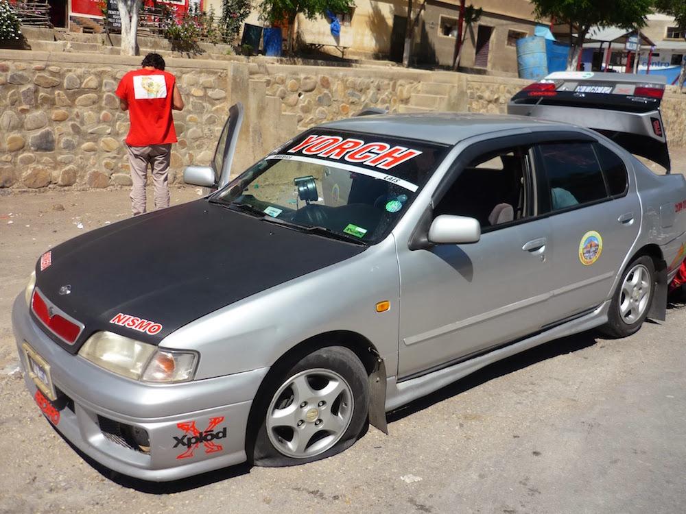 taxi potosi sucre bolivie