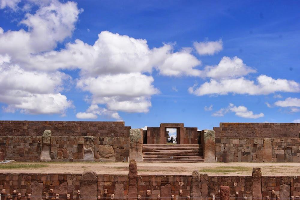 vestiges aymara tiwanaku la paz