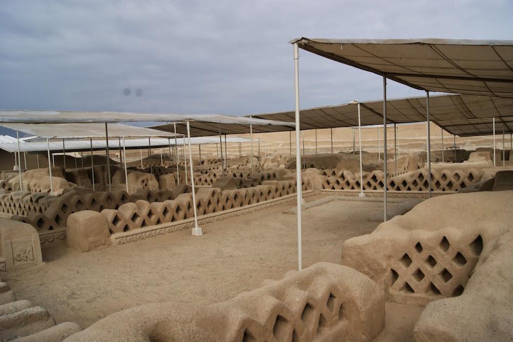 Palais Chanchan civilisation Chimu au Pérou