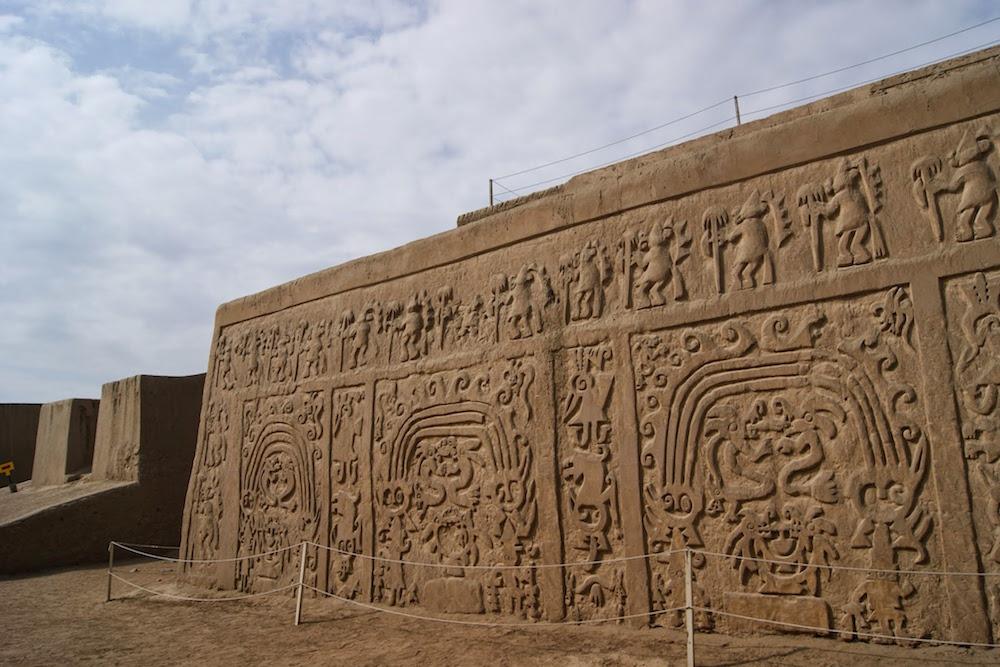 Temple chyme à Trujillo au Pérou
