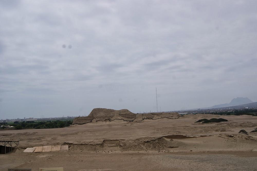 Temple huaca del sol Pérou Trujilio - moche