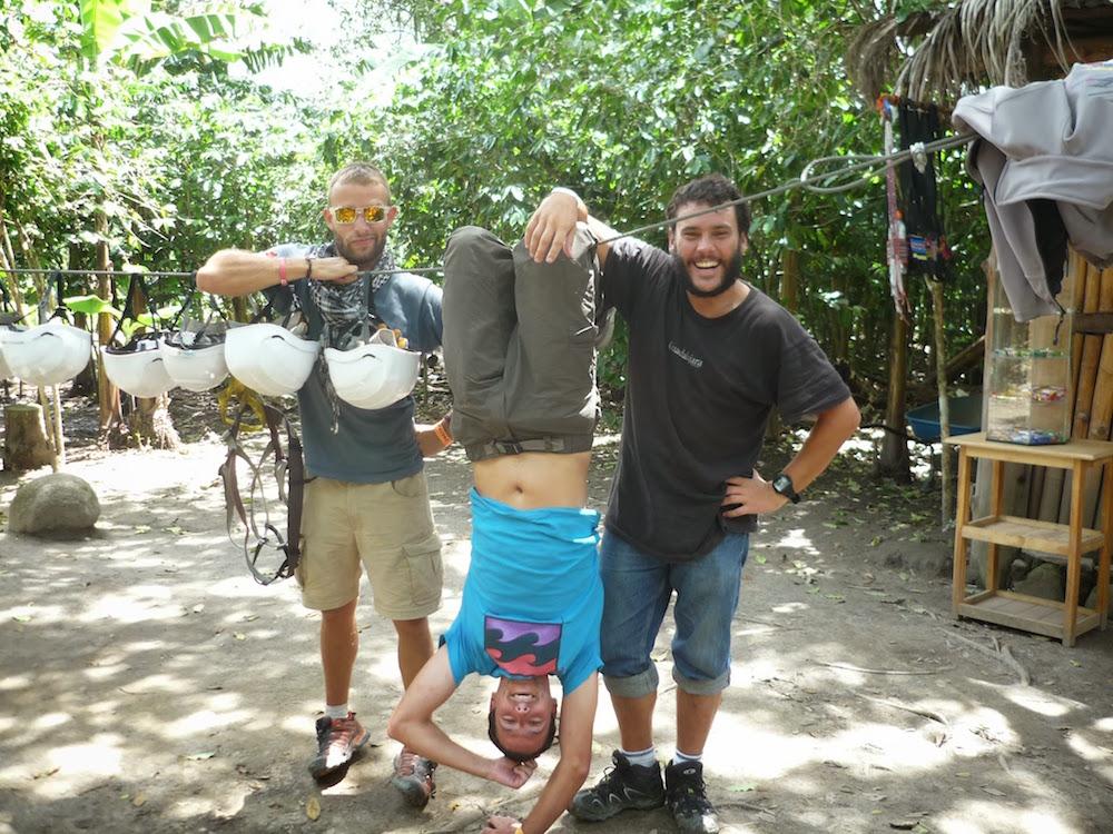 tyrolienne zipline santa théresa inca jungle pérou