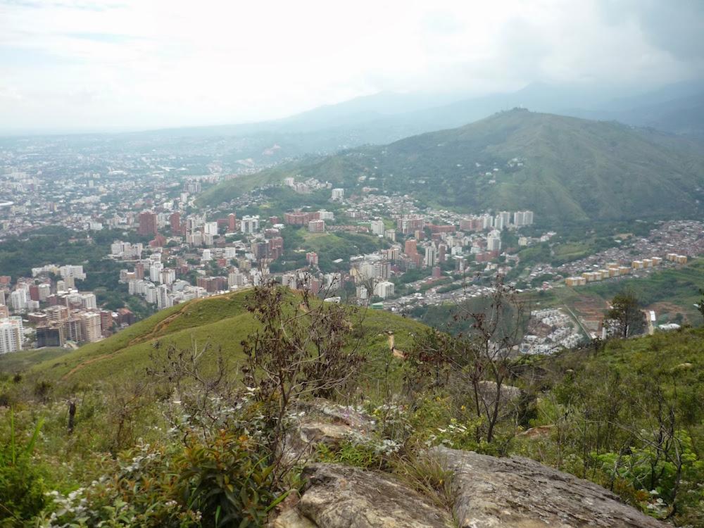 vue d'en haut ville de Cali Colombie